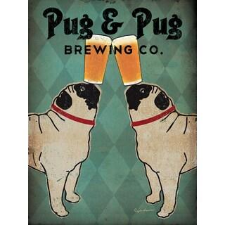 Ryan Fowler 'Pug and Pug Brewing Co.' Giclee Print