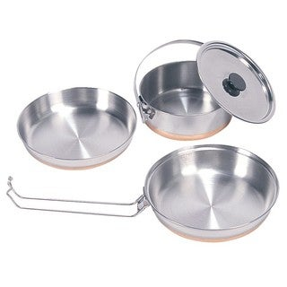 Stansport Stainless Steel Mess Kit