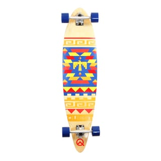 Quest 41-inch Tribes Pin-kick Tail Longboard