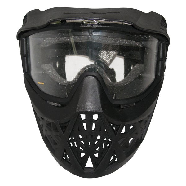 JT Elite Prime Single Lens Paintball Airsoft Mask