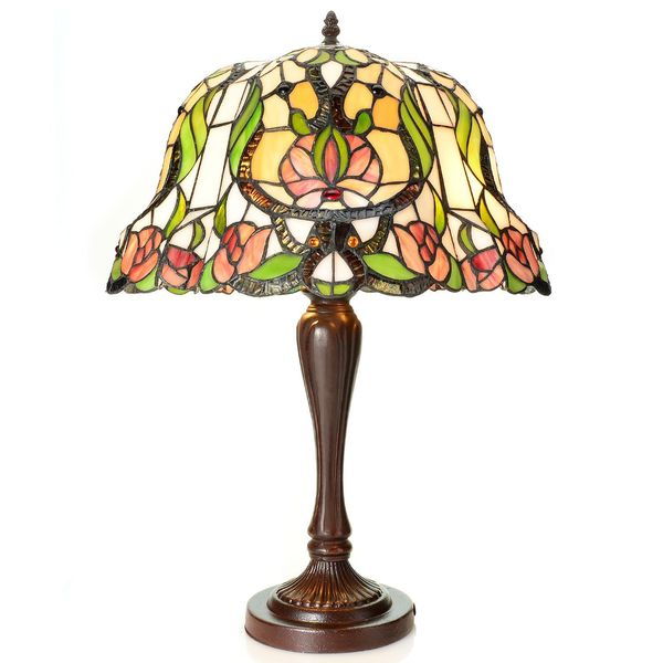 Tiffany Style Athena 25-inch Stained Glass Table Lamp