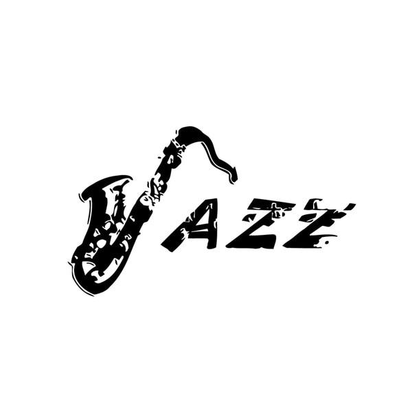 Jazz Music Lettering Vinyl Wall Art