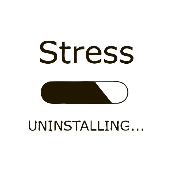 Don't Stress Quote Vinyl Wall Art