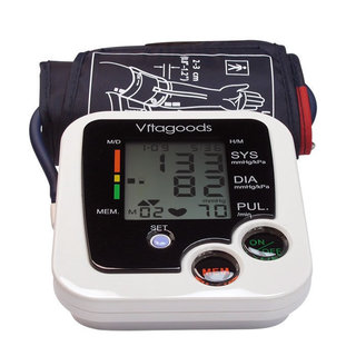 Vitagoods VGP-4110 Digital Pulse Desktop Blood Pressure Monitor