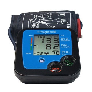 Vitagoods VGP-4117 Digital Pulse Desktop Blood Pressure Monitor