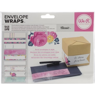 Self-Adhesive Envelope Wraps 18/Pkg-Classic