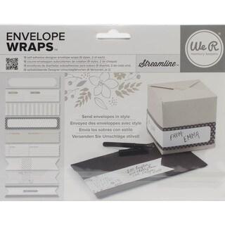 Self-Adhesive Envelope Wraps 18/Pkg-Streamline