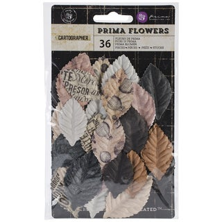 "Cartographer Flowers-Fabric Roamer 1.75"" 6/Pkg"
