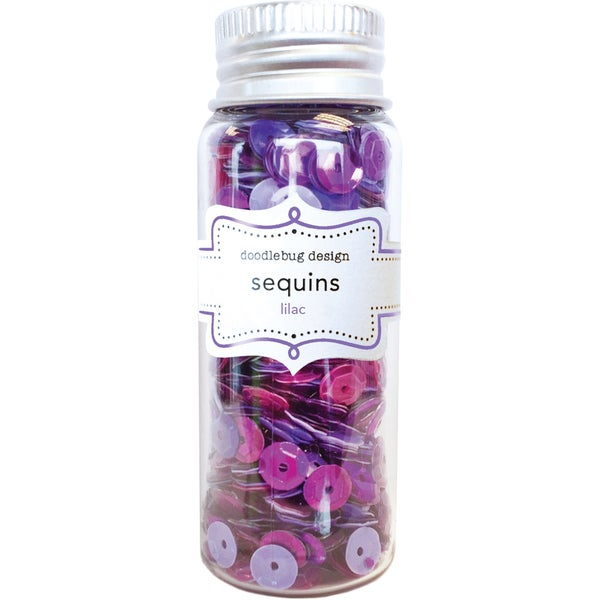 Kraft In Color Sequins Assorted-Lilac