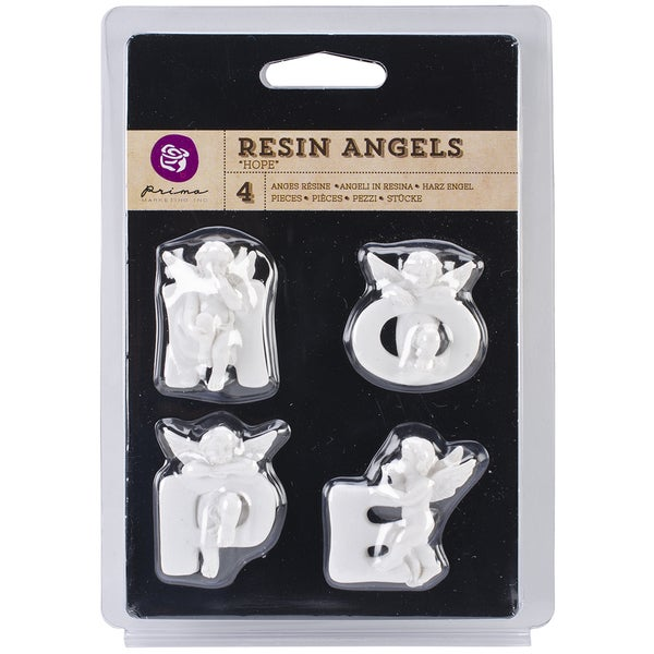 "Resin Angel Embellishments-Hope Word, 1.5"" Letters"