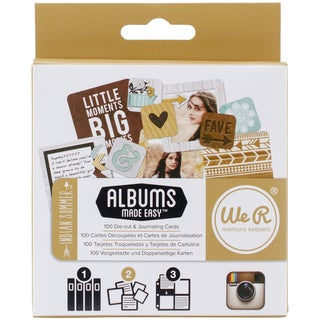 Instagram Albums Made Easy Journaling Cards-Indian Summer 100/Pkg