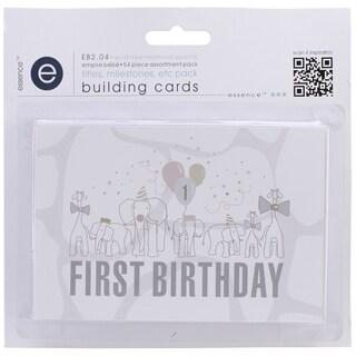 Empire Bebe Building Cards 54/Pkg-Titles & Timelines
