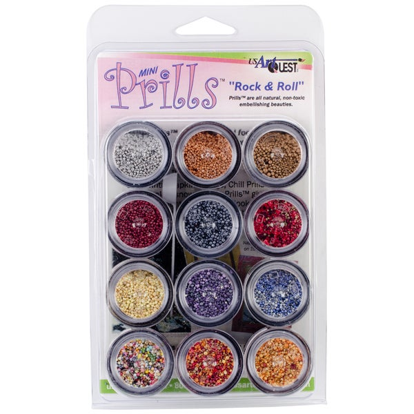 Mini Prills Collection 3g 12/Pkg-Rock N' Roll