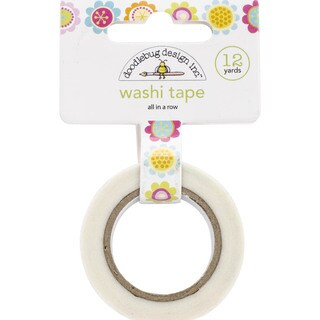 Springtime Washi Tape-All In A Row