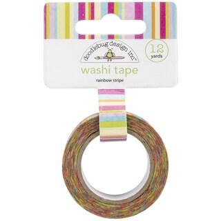 Springtime Washi Tape-Rainbow Stripe