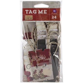 Stationer's Desk Tag Me Tags & Tickets-6 Each