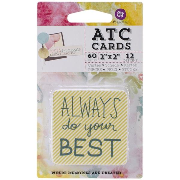 "Insta-Scrap ATC Cards 2""X2"" 60/Pad"