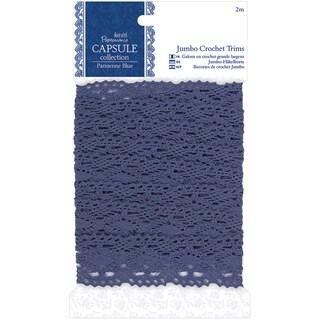 Papermania Parisienne Blue Jumbo Crochet Trim-