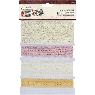 Papermania Madame Payraud Mixed Trims-4 Styles/1m Each