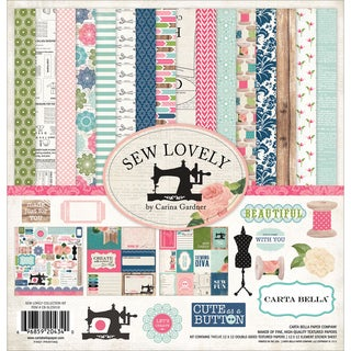 Sew Lovely Collection Kit 12inX12in