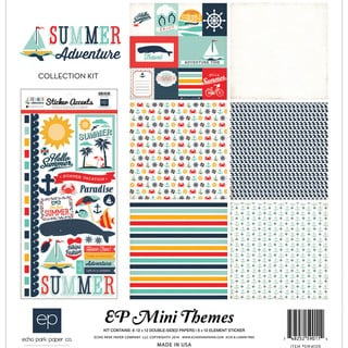 Summer Adventure Collection Kit 12inX12in