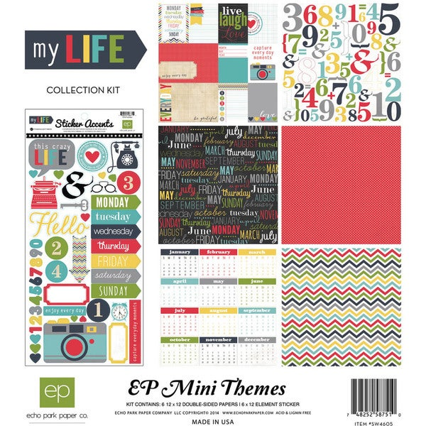 My Life Collection Kit 12inX12in