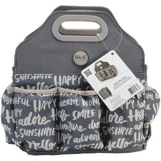"Crafter's Tote Bag-13.5""X13""X5.5"" Charcoal"