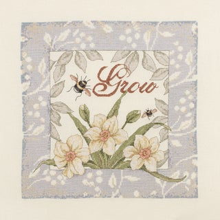 "Grow Counted Cross Stitch Kit-10""X10"" 28 Count"