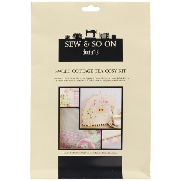 Sew & So On Tea Cozy Kit-Sweet Cottage