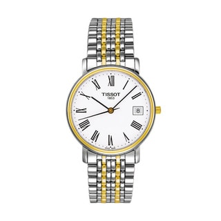 Tissot Men's 'T-Classic Desire' Two-tone Watch