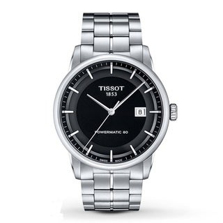 Tissot Men's T0864071105100 'Powermatic 80' Automatic Stainless Steel Watch
