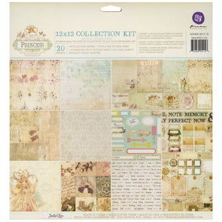 Princess Collection Kit 12inX12in 20/Sheets