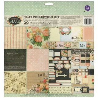 Something Blue Collection Kit 12inX12in 20/Sheets