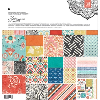 Spice Market Collection Pack 12X12in