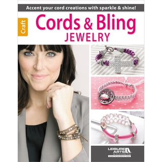 Leisure Arts-Cords And Bling Jewelry