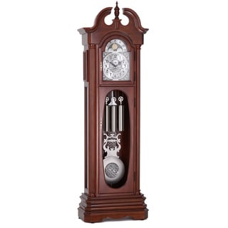 Colton Warm Brown Cherry Grandfather Clock