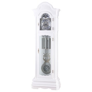 Sarasota White Grandfather Clock