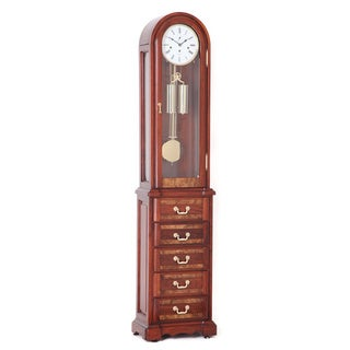 Chicago Rosewood Grandfather Clock