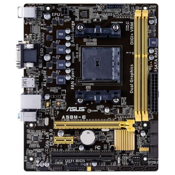 Asus A58M-E Desktop Motherboard - AMD A58 Chipset - Socket FM2+