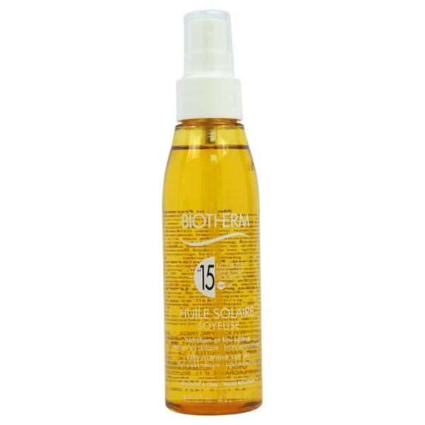 Biotherm Huile Solaire SPF 15 Silky Nutritive 4.22-ounce Sun Oil