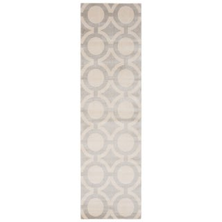 Nourison Luminance Cream Grey Rug (2'3 x 8')
