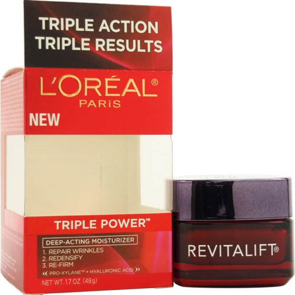L'Oreal Paris Revitalift Triple Power Deep-acting 1.7-ounce Moisturizer