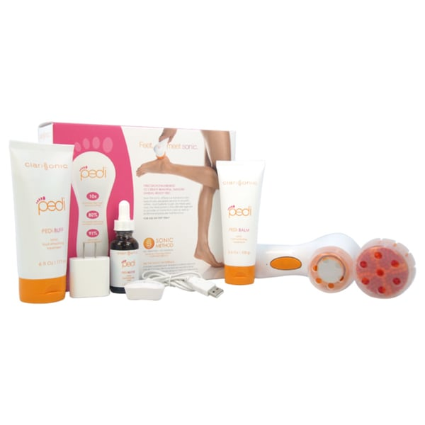 Clarisonic White Pedi Sonic Foot Transformation System