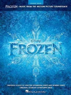 Frozen: Music from the Motion Picture Soundtrack: Piano Solo (Paperback)
