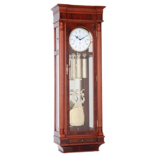 Van Tamelen Traditional Mahogany Grandfather Clock