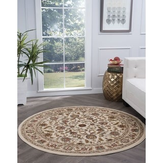 Alise Lagoon Traditional Area Rug (7'10 Round)