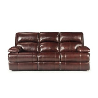 Signature Designs by Ashley Lensar Burgundy Reclining Sofa