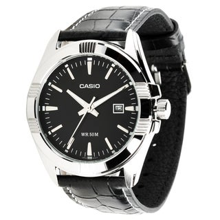 Casio Men's MTP1308L-1A Classic Black Watch