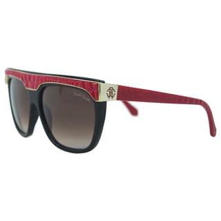Roberto Cavalli Women's 'RC800S Albireo 05T' Bordeaux Sunglasses