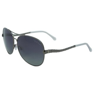 Roberto Cavalli Adhil 08C Women Gunmetal Polarized Sunglasses